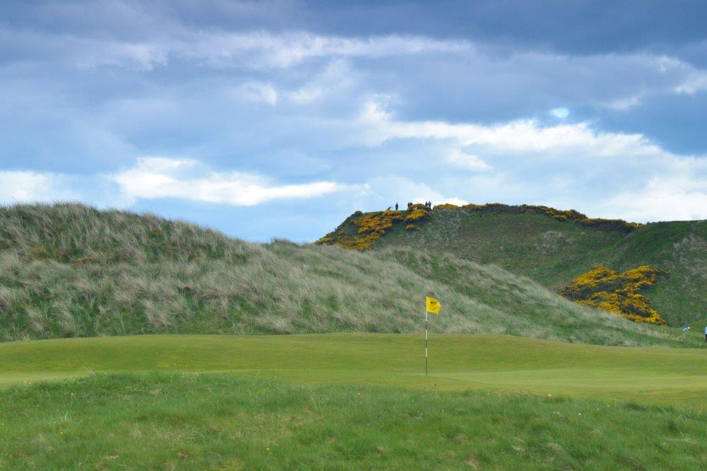 Cruden Bay 6 approach to 9 tee 4175