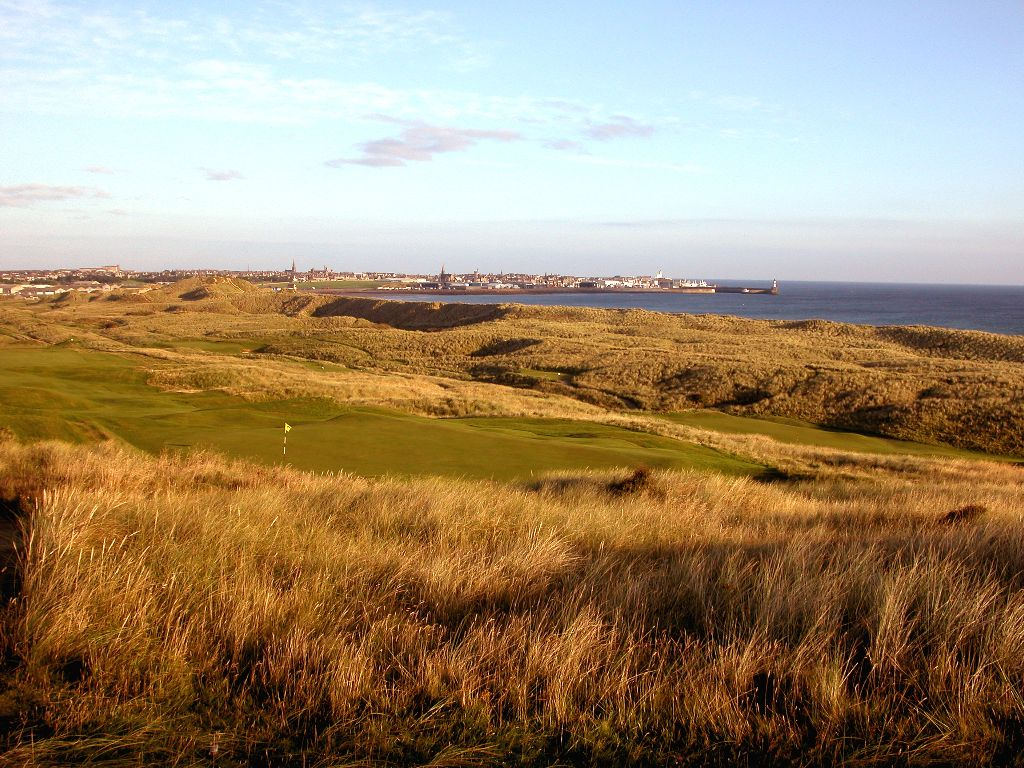 View-from-3rd-tee-towards-Fraserburgh